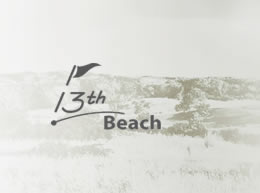 13th Beach Golf Course